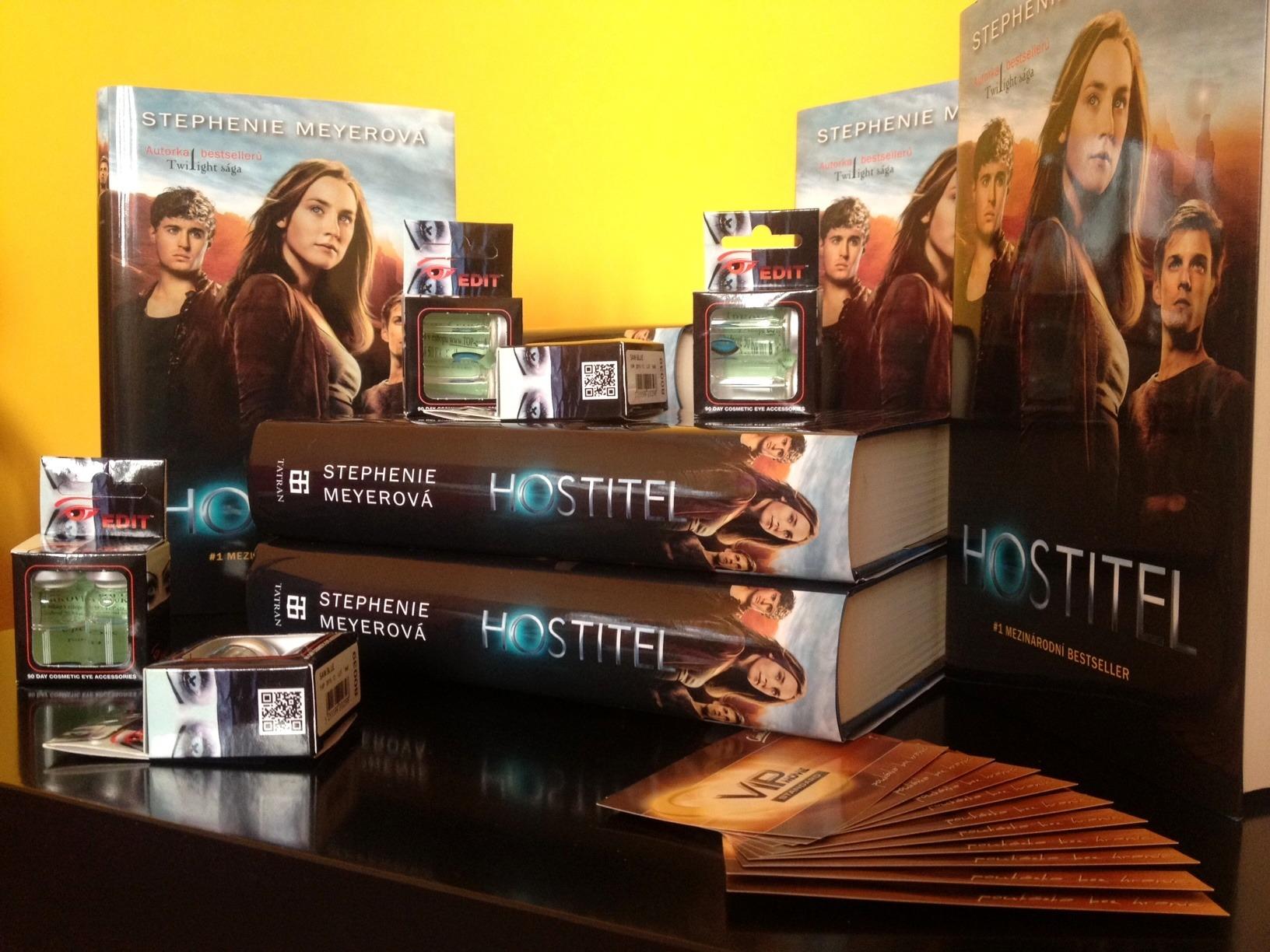 Týden s Hostitelem: Soutěžte o knihy, lístky do kina a kontaktní hostitelské čočky!