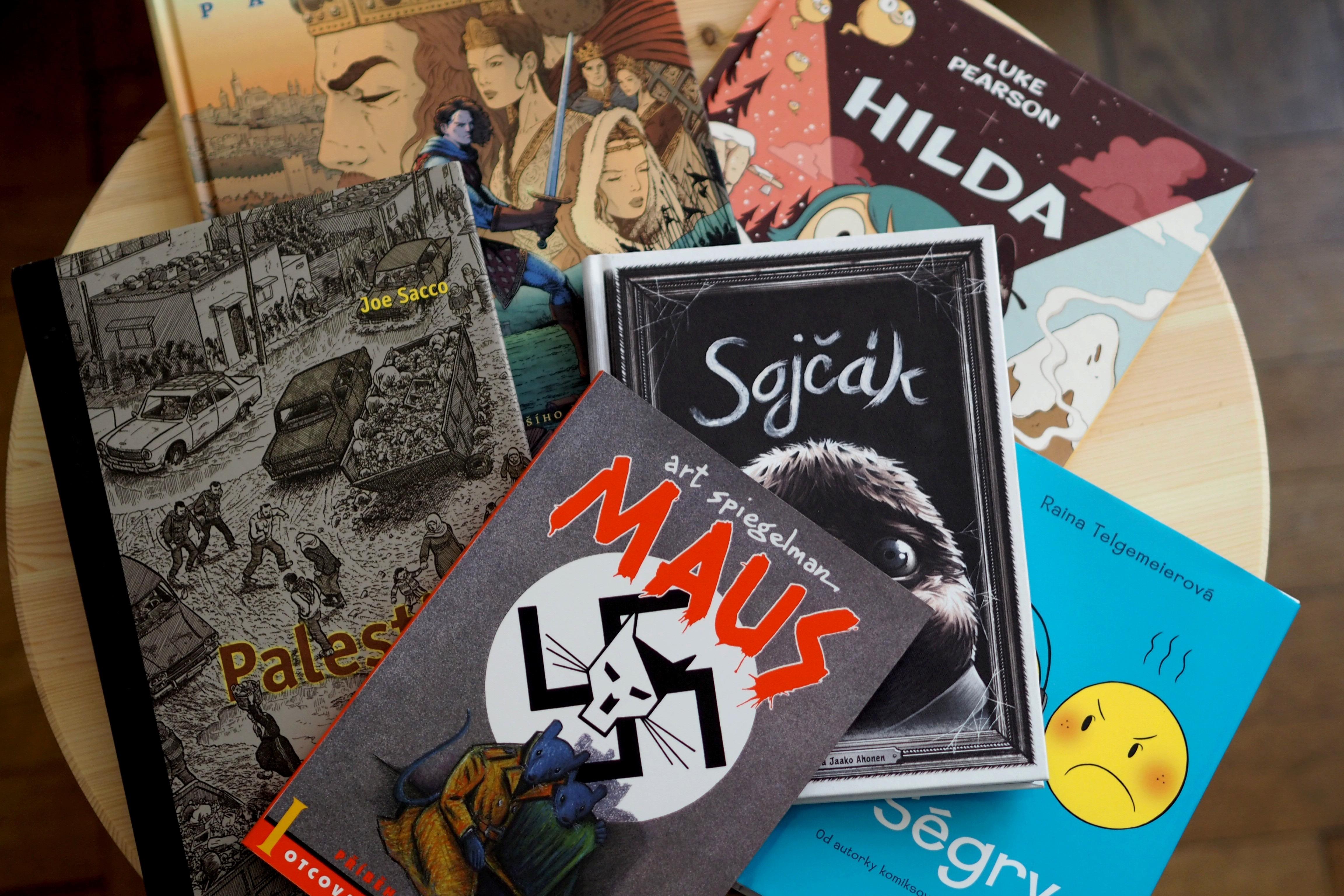 12 komiksů, které milujeme