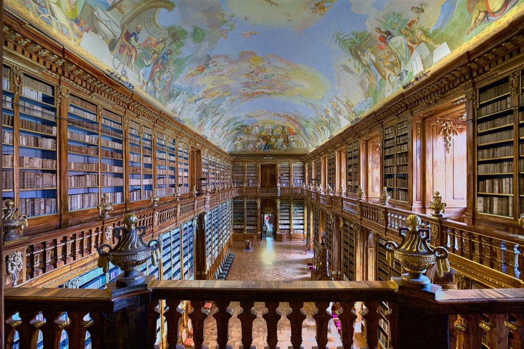 Proč je v České republice tolik knihoven
